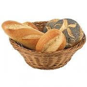 Корзинка для хлеба d=25.5см, h=9см ратанг