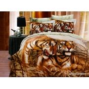 Постельное белье ARYA печатное 160х220 TIGER BROTHERS