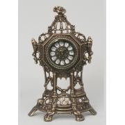 Часы-половинки каштан 35х22 см.