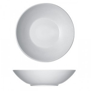 Тарелка глубокая «Опшенс», фарфор, D=30см, белый