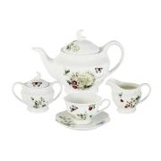 Чайный сервиз из 15 предметов на 6 персон Ягодная поляна
