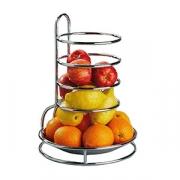 Этажерка для фруктов d=27,5см, сталь нерж., H=32см