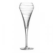 Бокал-флюте «Оупэн ап арабеск», стекло, 200мл, H=23.4см