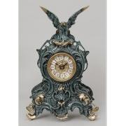 Часы с орлом синий 38х25 см.
