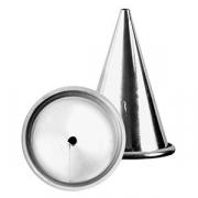 Насадка конд. «Круг», сталь нерж., D=35/3,H=50мм, металлич.