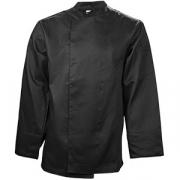 Куртка двубортная 48-50размер, твил, черный
