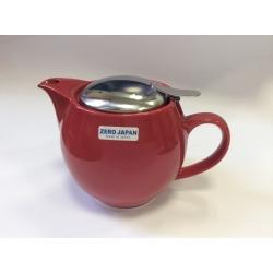 Чайник с ситечком 450мл цвет: Вишня