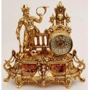Часы «Охотник» золотые 33х33 см.