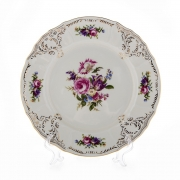 Набор тарелок 25см.6шт «Бернадотт Ивори»