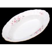 Блюдо овальное 24 см «Роза серая 5396011»