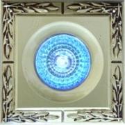 Галогеновый светильник.Цвет: золото