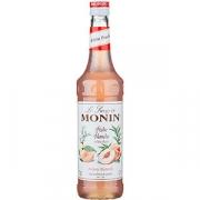 Сироп «Белый персик» «Монин»; стекло; 700мл