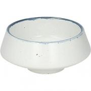 Салатник «Органика» D=8см; белый, синий