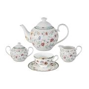 Чайный сервиз из 15 предметов на 6 персон Грейс