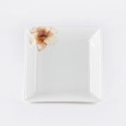 Салатник квадратный 12,7см «Бежевая лилия»