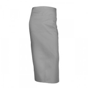Фартук с карманом, полиэстер,хлопок, L=90,B=86см, серый