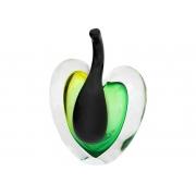 Скульптура для интерьера яблоко зел-желт.выпуклое