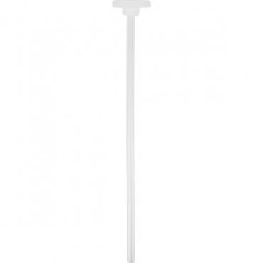 Трубка+прокладка для сифона для содовой D=3.1, H=25см; белый