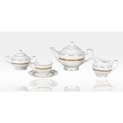 Сервиз чайный «Рокка» 17 предметов на 6 персон