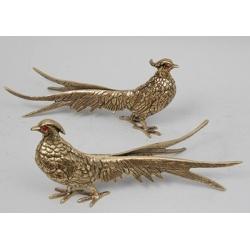 Пара фазанов мал. зол.12х25см