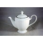 Чайник с крышкой «Серебряный лотос»