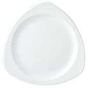 Блюдо «Симплисити вайт» 30.5см фарфор