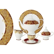 Чайный сервиз 40 предметов на 12 персон Венеция