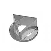 Резак «Треугольник»; сталь нерж.; D=5см