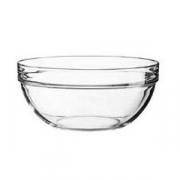 Салатник «Эмплайабл», стекло, 385мл, D=55,H=120мм