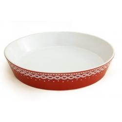 Блюдо круглое «Сердечки» 27 см