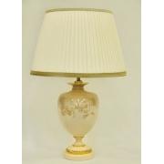 Настольная лампа с абажуром «Нефрит»