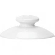 Крышка для чайника 0367 «Симплисити Вайт» фарфор; белый