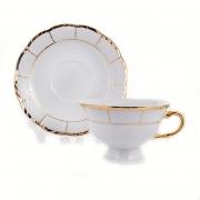 Набор для чая на 160 мл. 6 перс. 12 пред «Менуэт»