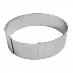 Кольцо конд.раздв.d=18-36см, сталь нерж., H=45мм