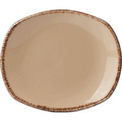 Тарелка овал «Террамеса вит» 25.5см