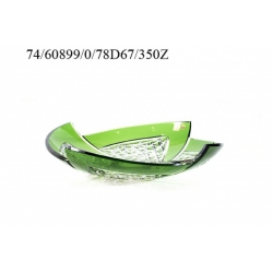 Салатник зеленый 350