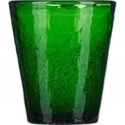 Стакан «Колорс» стекло; 310мл; зелен.