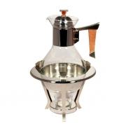 Кофейник с подогревом, 20х20х32 см, Grigio
