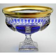 Ваза для фруктов 30 см «Арнштадт Антик синий»