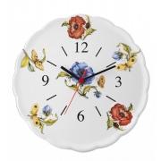 Часы керамические 30см «Ботанический сад»