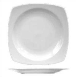 Тарелка квадр. 23см фарфор