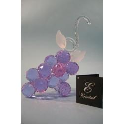 Гроздь винограда средняя лилово-голубая d 30 13х19 см