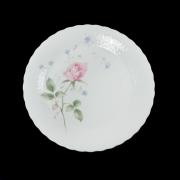Набор 6 тарелок 21см. «Апрельская роза»