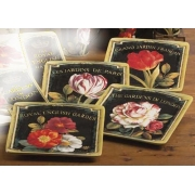 Набор 4-х тарелок десертных 21,5 см «Цветущий сад»