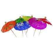 Зонтик на корот. ножке 50шт.