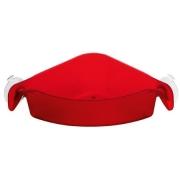Угловой органайзер/корзина для ванны BOXS Koziol 192 х 192 х 74мм (прозрачный красный )