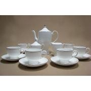 Чайный сервиз на 6 персон, 17 предметов. «Виноградная лоза»