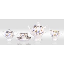 Сервиз чайный «Грация» 17 предметов на 6 персон
