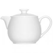 Чайник «Бонн», фарфор, 350мл, белый