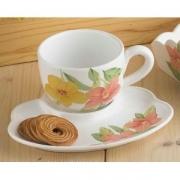 Набор для завтрака: чашка+тарелка 24см